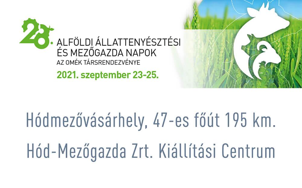 Alföldi Állattenyésztési és Mezőgazda Napok Szakkiállítás és Vásár